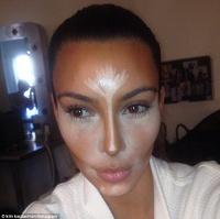 Kim Kardashian et le contouring