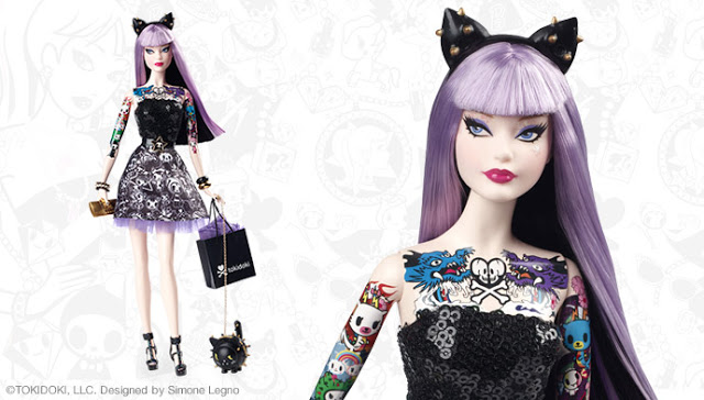 Barbie Tokidoki Platinum Label