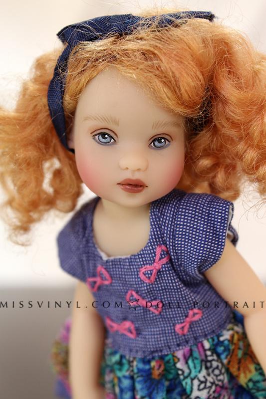 Tiny Riley Blue