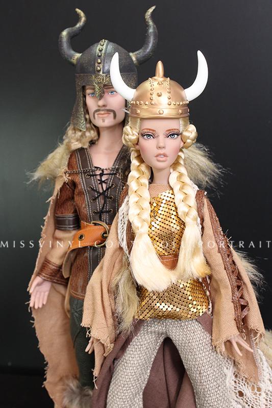 Halvar & Warrior Woman