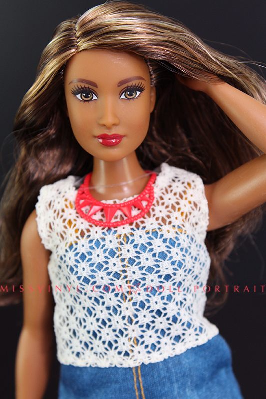 Fashionistas Curvy Doll Up Denim