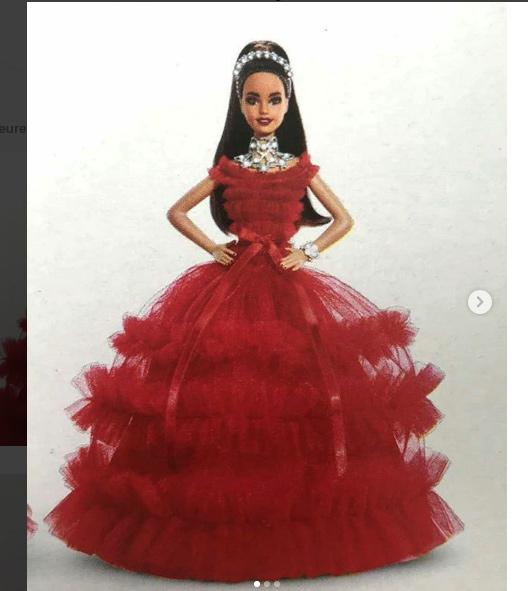 Barbie de Noël 2018