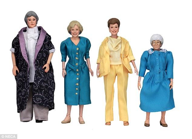 Figurines Golden Girls