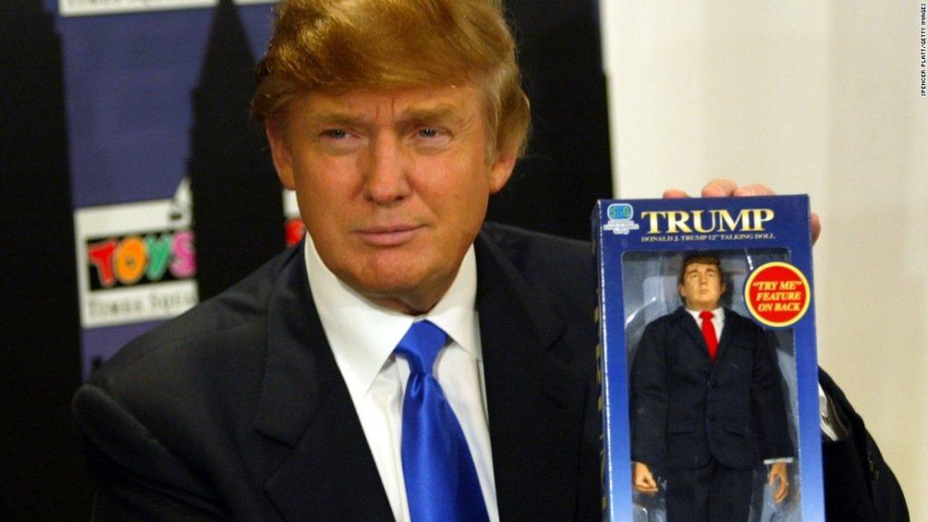La poupée Trump bientôt taxée ?